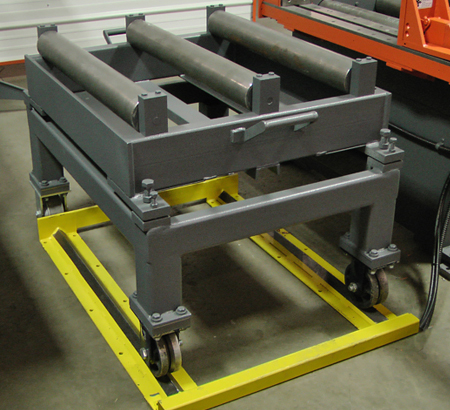 Sliding Roller Rack Section